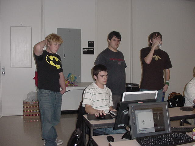 Adam Josey, Jacob Rece, Keith Kelly, & Adam Staley